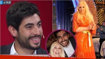 Facundo Moyano habló en A dos voces sobre los rumores de romance con Susana Giménez