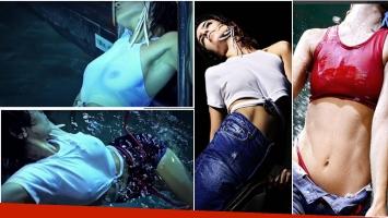 Agustina Cherri, súper sexy en una campaña de ropa. (Fotos: Instagram)