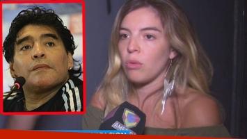 Dalma, distante y sin comunicación con Maradona (Foto: web)