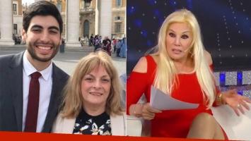 La madre de Facundo Moyano aclaró sus dichos sobre Susana Giménez