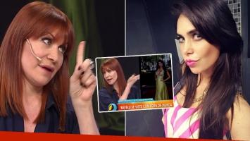 Matilda Blanco criticó con dureza el look de Ravelli (Foto: web)