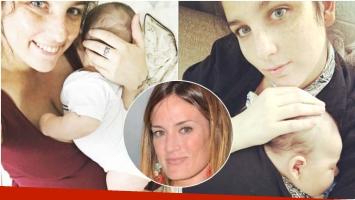 El tierno saludo de Juana Repetto a su hijo por sus 3 meses y el divertido duelo nocturno que le aceptó a Paula Chaves (Fotos: Instagram y Web)