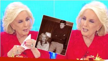 Mirtha Legrand se quebró en su programa al hablar de sus hijos (Fotos: Captura y Web)