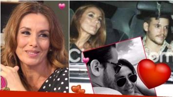 Viviana Saccone habló de su novio Santiago, en el programa de Mirtha Legrand (Fotos: Captura, Ciudad.com y Twitter)