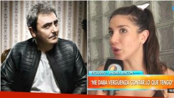 Andrea Rincón negó un affaire con Eduardo de la Puente (Fotos: Web y Captura)