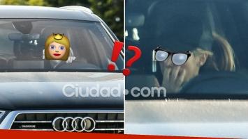 La súper famosa, agarrada in fraganti mientras manejaba su camioneta ¡con el dedo en la nariz!