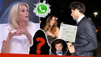 """Yanina Latorre contó que Pico Mónaco trató de """"extremadamente celosa"""" a Pampita ¡y el tenista le escribió por WhatsApp!"""