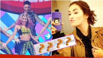 La reacción de Lali Espósito luego de que criticaran su tema en la zumba de Fede Bal en el Bailando (Fotos: Prensa Ideas del Sur y Web)