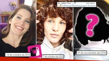 ¡Otro más! El nuevo radical cambio de look de Liz Solari: ¡tres estilos muy distintos en un mes!