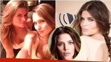 El audio de la amiga de Pampita e Ivana Figueiras (Fotos: Web)