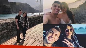 Ivana Icardi y Luifa, enamorados en su primer viaje a Gran Canaria (Foto: Instagram)
