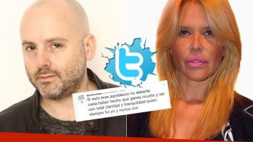 José María Muscari le respondió a Nazarena Vélez tras su mensaje en Twitter (Foto: web)
