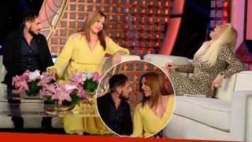 Lizy Tagliani le presentó su nuevo novio a Susana Giménez