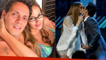 ¡Bomba internacional! ¿Por este beso con Jennifer Lopez, Marc Anthony se separó de su mujer?
