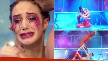 Ángela Torres deslumbró con un romántico aquadance en ShowMatch. Foto: Captura/ Ideas del sur