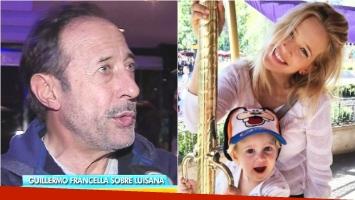 Guillermo Francella habló sobre la salud de Noah Bublé: