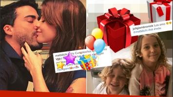 Matías Di Chiara y un romántico saludo de cumpleaños a Juliana Giambroni (Foto: Instagram)