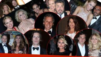 Las celebridades acompañaron a Valeria Mazza en su gala benéfica. (Foto: Movilpress / Ciudad.com)