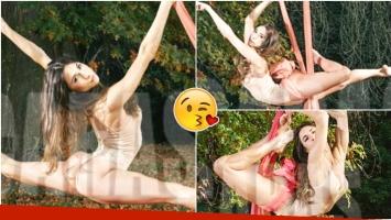 La producción súper sexy de Magui Bravi (Fotos: revista Caras)