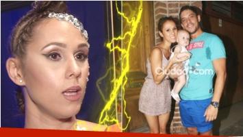 Barby Silenzi acusó a Francisco Delgado de maltrato (Fotos: Captura y Ciudad.com)