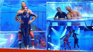 Charlotte Caniggia hizo su Aquadance en ShowMatch inspirado en Buscando a Nemo. Foto: Ideas del sur