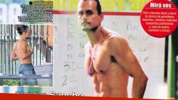 A los 41 años, Christian Sancho es dueño de un lomazo escultural (Foto: revista Paparazzi)