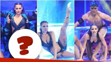 Pampita deslumbró con su aquadance en ShowMatch (Fotos: Prensa Ideas del Sur)