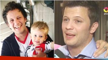 La emoción de Darío Lopilato al hablar de la salud de su sobrino Noah Bublé (Fotos: Web y Captura)