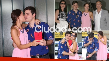 Las fotos del casamiento por Civil de Sabrina Artaza (Foto: Movilpress)