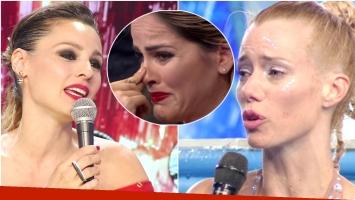 Nuevo escándalo de Pampita y Nicole Neumann en ShowMatch (Fotos: Captura)