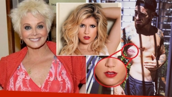 Carmen opinó del nuevo tatuaje de Fede y de los rumores de romance con Laurita (Foto: web e Instagram)