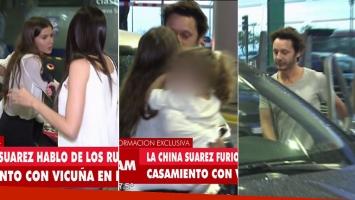 La China Suárez se enojó con la prensa y desmintió casamiento secreto con Benjamín Vicuña (Foto: web)