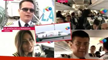 El video del avión de la tragedia de Chapecoense, minutos antes de despegar.