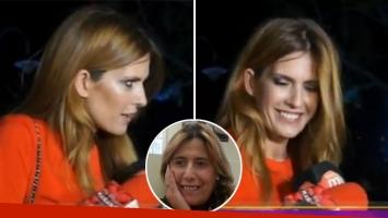 La reacción de Isabel Macedo cuando le preguntaron por su hermana