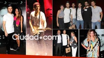 Benjamín Amadeo presentó su disco en vivo