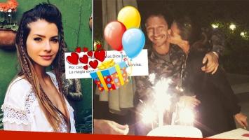 La China Suárez y un romántico mensaje a Benjamín Vicuña en el festejo de su cumpleaños (Foto: Instagram)