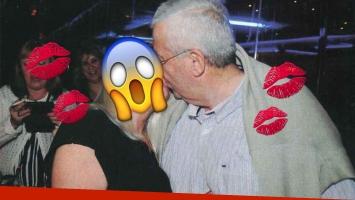 Famosa, a los besos con un fanático... ¡casado! (Foto: revista Pronto)
