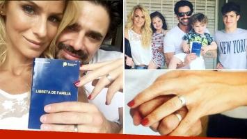 Sabrina Rojas y Luciano Castro se casaron por civil en el más estricto secreto. (Foto: Instagram)