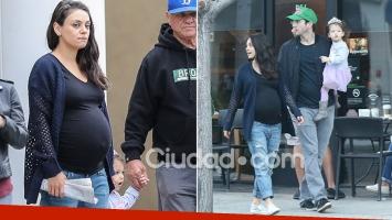 Nació el segundo hijo de Mila Kunis y Ashton Kutcher. Foto: Grosbry Group.
