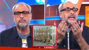Jorge Rial contra los premios Tato 2016.