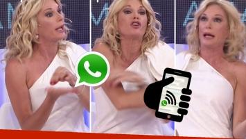 Yanina Latorre y una divertida queja al grupo de WhatsApp de las madres del colegio (Foto: web)