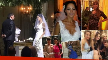 Las fotos del casamiento de Natalia Fassi con Fabián Carballo (Foto: Twitter)