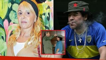 Polémica entre Diego Maradona y Claudia Villafañe por una gorra del Che Guevara