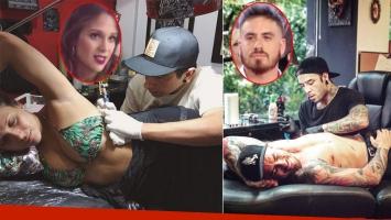 Barbie Vélez mostró el tatuaje que se hizo dedicado a su abuela. Foto: Captura