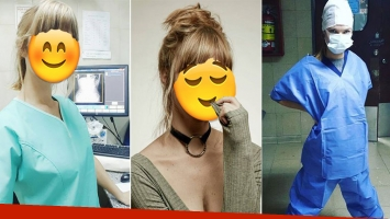 El lado desconocido de la bella actriz que trabaja de radióloga (Fotos: Instagram)
