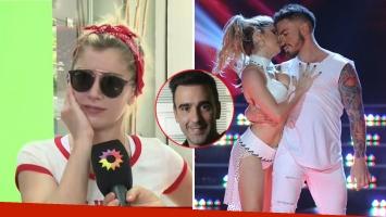 Laurita Fernández explicó por qué no quiere besar a Federico Bal en el Bailando