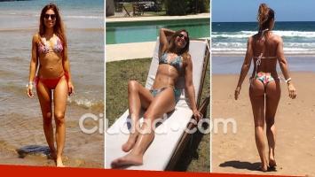 Mariana Brey, una diosa soltera en las playas de Conchillas, Uruguay. (Foto: Ciudad.com)