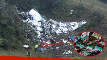 En el lugar del accidente se encontraron carteles que el utilero había preparado para los jugadores de Chapecoense.