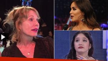 Gloria Carrá, tras el tenso encuentro de Ángela Torres con Lali Espósito (Foto: web)
