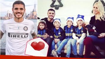 El romántico mensaje de Mauro Icardi a Wanda en el día de su cumpleaños (Fotos: Instagram)